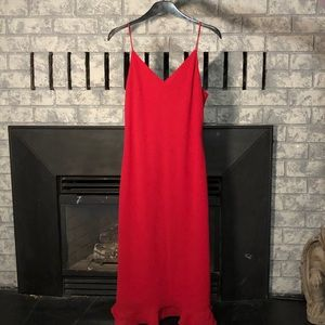 Dresses & Skirts - Beautiful Vintage Lori Ann Montreal Red Dress